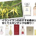 【2021】甘くてエキゾチックな香り♡イランイランの香水おすすめ10選!